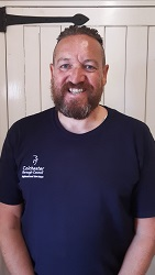 Photo of Kenny, a team member