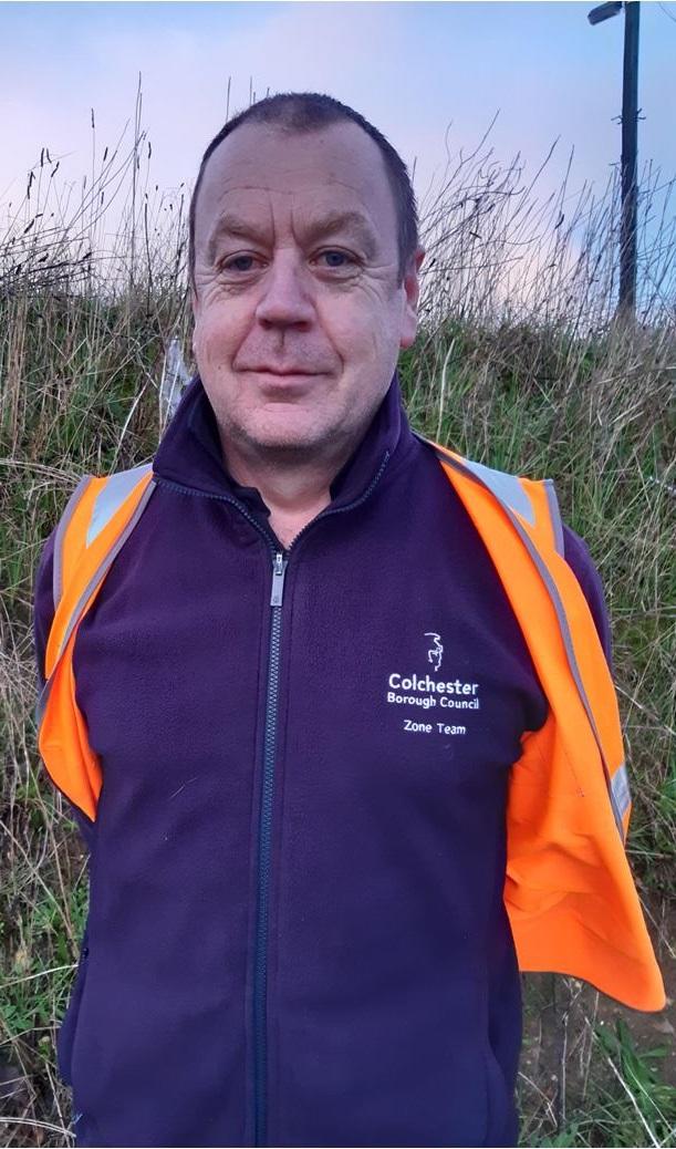 Photo of Carl, a team member
