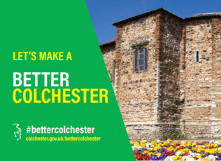 Lets make a better colchester