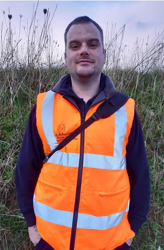Photo of Shayne, a team member
